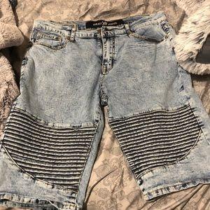 New jean shorts men's